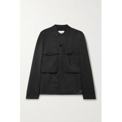 Jil Sander - Appliquéd Twill Jacket - Black found on Bargain Bro UK from NET-A-PORTER UK