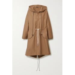 Bassike - Hooded Cotton-gabardine Jacket - Beige found on MODAPINS from NET-A-PORTER for USD $390.00