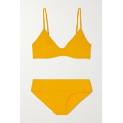 Les Girls Les Boys - Ribbed Underwired Bikini - Yellow found on Bargain Bro India from NET-A-PORTER for $165.00