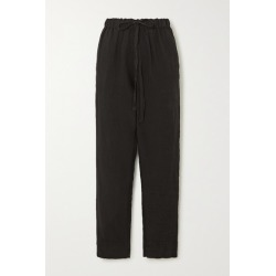 Bassike - Linen Pants - Black found on MODAPINS from NET-A-PORTER UK for USD $298.09