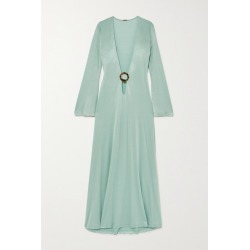 Dodo Bar Or - Lin Embellished Cutout Stretch-jersey Maxi Dress - Sky blue found on MODAPINS from NET-A-PORTER UK for USD $471.81