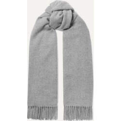 Acne Studios - Canada Fringed Mélange Wool Scarf - Gray found on Bargain Bro UK from NET-A-PORTER UK