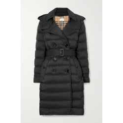 Burberry - + Net Sustain Belted Hooded Quilted Shell Down Coat - Black found on Bargain Bro UK from NET-A-PORTER UK