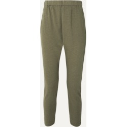 Bassike - Organic Cotton-jersey Track Pants - Green found on MODAPINS from NET-A-PORTER UK for USD $203.51
