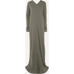 Rick Owens - Cotton-jersey Maxi Dress - Gray found on Bargain Bro UK from NET-A-PORTER UK