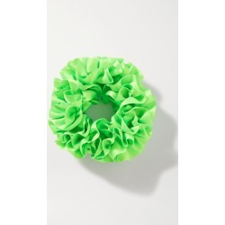 Maryam Nassir Zadeh - Carnation Silk-satin Hair Tie - Green found on Makeup Collection from NET-A-PORTER UK for GBP 66.56