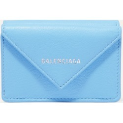 Balenciaga - Papier Mini Textured-leather Wallet - Blue found on Bargain Bro Philippines from NET-A-PORTER for $350.00