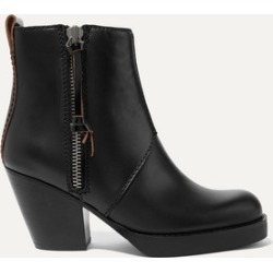 Acne Studios - The Pistol Leather Ankle Boots - Black found on Bargain Bro UK from NET-A-PORTER UK