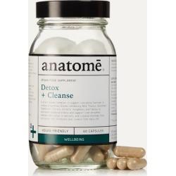 anatome - Vegan Food Supplement - Detox + Cleanse (60 Capsules)
