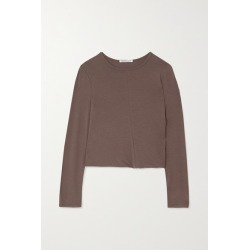 Georgia Alice - Twisted Stretch-jersey Top - Light brown found on MODAPINS from NET-A-PORTER for USD $280.00