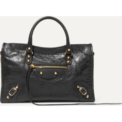Balenciaga - Classic City Textured-leather Tote - Black found on Bargain Bro UK from NET-A-PORTER UK