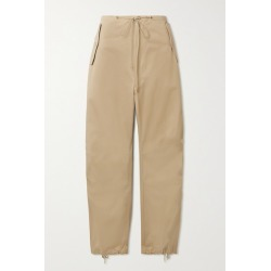 Dion Lee - Cotton-twill Tapered Pants - Beige found on MODAPINS from NET-A-PORTER UK for USD $585.23