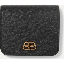 Balenciaga - Bb Compact Textured-leather Wallet - Black found on Bargain Bro Philippines from NET-A-PORTER for $525.00