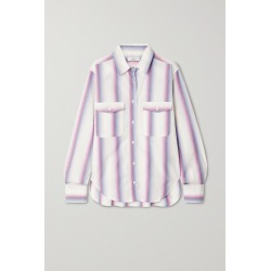 ISABEL MARANT ÉTOILE - Jalyne Striped Cotton-poplin Shirt - Pink found on Bargain Bro India from NET-A-PORTER for $395.00