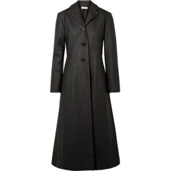 Beaufille - Olympus Coated Cotton-blend Trench Coat - Black found on MODAPINS from NET-A-PORTER UK for USD $934.10