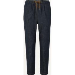 Brunello Cucinelli - Bead-embellished Denim Tapered Pants - Dark denim found on Bargain Bro UK from NET-A-PORTER UK