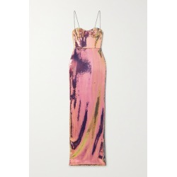 Alex Perry - Ford Sequined Voile Gown - Pink found on MODAPINS from NET-A-PORTER UK for USD $1377.71