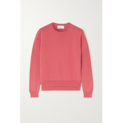 Alexandra Golovanoff - Françoise Cotton And Silk-blend Sweater - Blush found on MODAPINS from NET-A-PORTER for USD $189.00