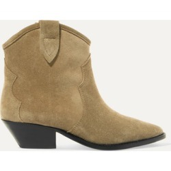 Isabel Marant - Dewina Suede Ankle Boots - Beige found on Bargain Bro UK from NET-A-PORTER UK