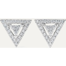 Messika - Théa 18-karat White Gold Diamond Earrings found on Bargain Bro Philippines from NET-A-PORTER for $2610.00