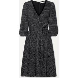 Alice Olivia - Coco Stretch-lurex Midi Dress - Black found on MODAPINS from NET-A-PORTER for USD $350.00