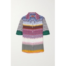 MISSONI - Printed Woven Shirt - Purple found on Bargain Bro India from NET-A-PORTER for $1115.00