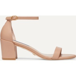 Stuart Weitzman - Leather Sandals - Beige found on MODAPINS from NET-A-PORTER UK for USD $456.98