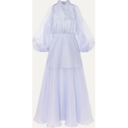 Beaufille - Europa Silk-organza Maxi Dress - Lilac found on MODAPINS from NET-A-PORTER for USD $1080.00
