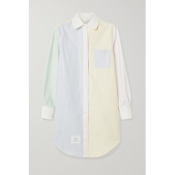 Thom Browne - Patchwork Striped Cotton Oxford Dress - White found on Bargain Bro UK from NET-A-PORTER UK