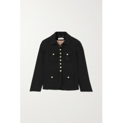 Chloé - Embroidered Crepe Jacket - Black found on Bargain Bro UK from NET-A-PORTER UK