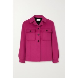 SAINT LAURENT - Wool And Cashmere-blend Jacket - Pink found on Bargain Bro UK from NET-A-PORTER UK