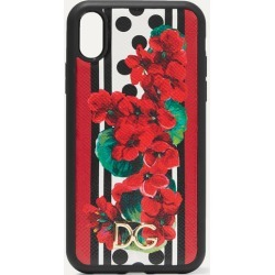 Dolce & Gabbana - Printed Textured-leather Iphone Xr Case - one size