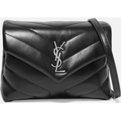 SAINT LAURENT - Loulou Toy Quilted Leather Shoulder Bag - Black found on MODAPINS from NET-A-PORTER UK for USD $1035.63