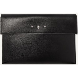 Alexander McQueen - Embellished Textured-leather Pouch - Black found on Bargain Bro Philippines from NET-A-PORTER for $450.00