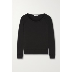 James Perse - Vintage Supima Cotton-terry Top - Black found on Bargain Bro UK from NET-A-PORTER UK