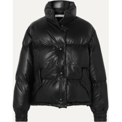 Golden Goose - Yuri Quilted Leather Down Jacket - Black found on Bargain Bro UK from NET-A-PORTER UK