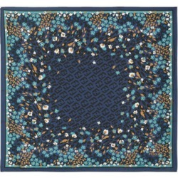 Fendi - Printed Silk-twill Scarf - Navy found on Bargain Bro Philippines from NET-A-PORTER for $294.00