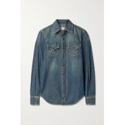 SAINT LAURENT - Denim Shirt - Blue found on Bargain Bro UK from NET-A-PORTER UK