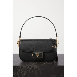 Prada - Ensemble Textured-leather Shoulder Bag - Black found on MODAPINS from NET-A-PORTER UK for USD $2320.56