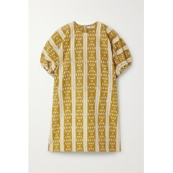 MATIN - Embroidered Cotton-voile Mini Dress - Camel found on Bargain Bro Philippines from NET-A-PORTER for $425.00