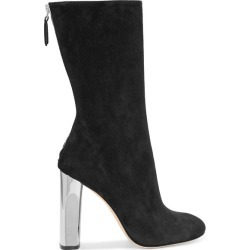Alexander McQueen - Suede Boots - Black found on MODAPINS from NET-A-PORTER UK for USD $1083.88