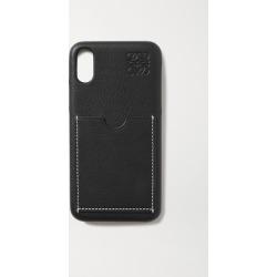 Loewe - Textured-leather Iphone X Case - Black