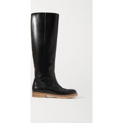 Gabriela Hearst - Howard Leather Knee Boots - Black found on Bargain Bro Philippines from NET-A-PORTER for $1290.00