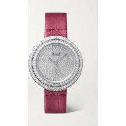 Piaget - Possession 34mm 18-karat White Gold, Alligator And Diamond Watch - one size found on MODAPINS from NET-A-PORTER UK for USD $39271.34
