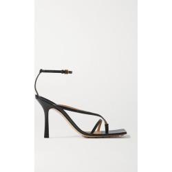 Bottega Veneta - Leather Sandals - Black found on MODAPINS from NET-A-PORTER UK for USD $923.62