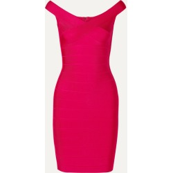 Hervé Léger - Bandage Mini Dress - Bright pink found on MODAPINS from NET-A-PORTER UK for USD $774.22