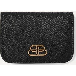 Balenciaga - Bb Mini Textured-leather Wallet - Black found on Bargain Bro Philippines from NET-A-PORTER for $425.00