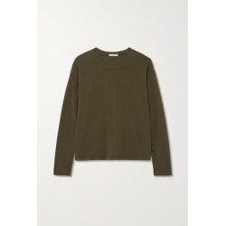 James Perse - Vintage Cotton-jersey T-shirt - Green found on Bargain Bro India from NET-A-PORTER for $85.00