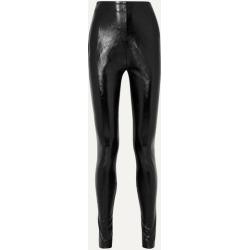 Stand Studio - Pernille Teisbaek Tabitha Faux Leather Skinny Pants - Black