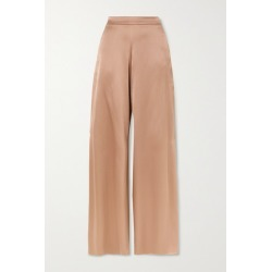 Cushnie - Silk-charmeuse Wide-leg Pants - Sand found on MODAPINS from NET-A-PORTER UK for USD $1233.68